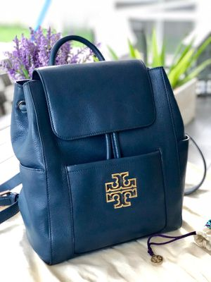 Tory Burch Britten Pebbled Leather Backpack for Sale in Tampa, FL