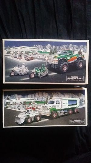 2 hess collectables toys for Sale in Sewell, NJ