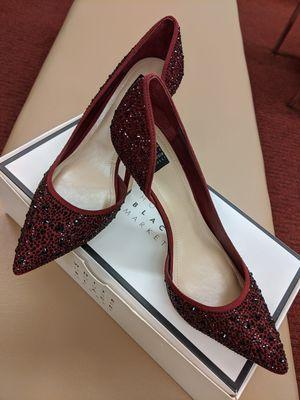 White House Black Market Ella ombré embellished d'Orsay heels in grenadine Size 7.5 for Sale in Vernon Hills, IL