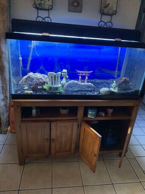 Fish tank and stand for Sale in El Monte, CA