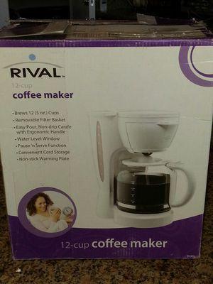 Rival coffee maker for Sale in Wildomar, CA