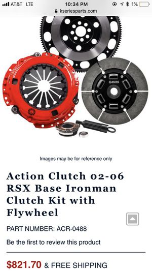 Iron Man K Seriies Clutch and Flywheel for Sale for sale  Woodbridge Township, NJ