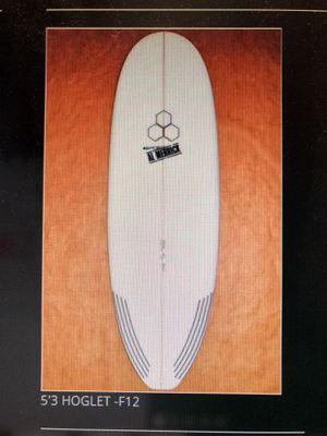 5'3 hoglet Channel Islands Surfboard With Jordy Traction Pad for Sale in San Francisco, CA