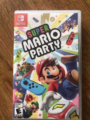 Super Mario Party Switch for Sale in New Brunswick, NJ