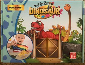 Nonzers PAINT YOUR OWN DINOSAUR Kit 33 Pieces Arts and Crafts Fun **NEW** for Sale in City of Industry, CA