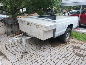 Traila con tool box for Sale in Mission, TX