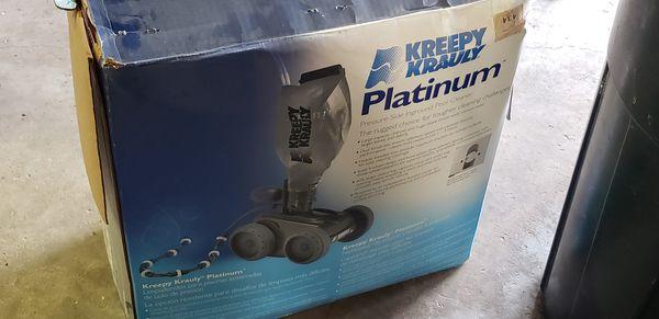 2 Kreepy Krawly Platinums pool cleaner