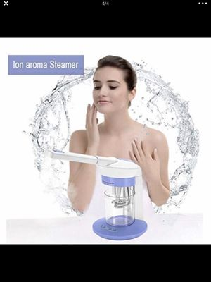 NEW!!! 3 in 1 Facial and Hair Steamer-The facial steamer can deeply cleansing, moisturizing and oil controlling, making your skin smooth, and it also for Sale in El Monte, CA