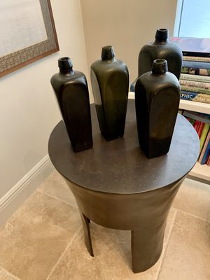 4 Antique Bottles from the Ocean for Sale in Miami, FL