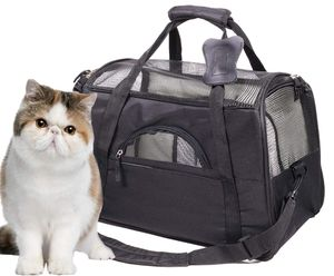 New Cat Carrier Airline Approved Pet Travel Carrier Purse for Small Dog with Fleece Bedding and Safety Lock for Sale in Brooklyn, NY
