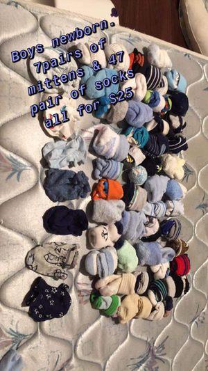 Boys socks & mittens now $10 for Sale in Leeds, AL