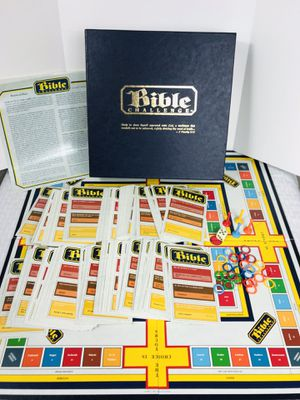 Vintage 1984 Bible Challenge Board Game by E. Barineau for Sale in Pawtucket, RI