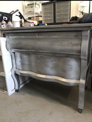 Platinum finish antique dresser for Sale in East Wenatchee, WA