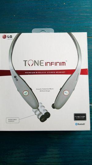 LG Tone infinim Bluetooth wireless headset for Sale in Louisville, KY