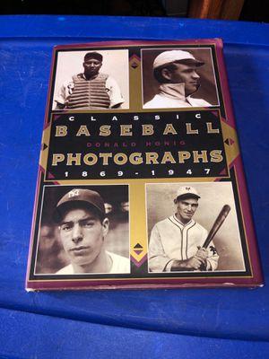 Baseball Photographs 1869-1947 Book for Sale in Kent, WA