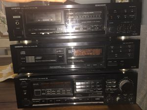 Sound system, ONKYO for Sale in Cumming, GA