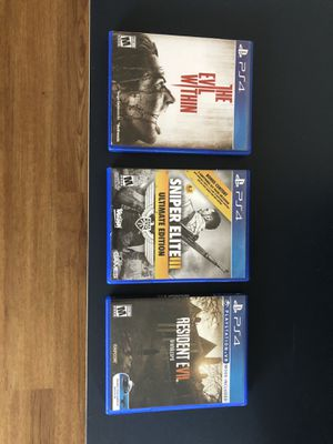 PS4 Games for Sale in Newark, CA