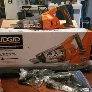 New.. Ridgid 18V Compact hand vacuum for Sale in Bakersfield, CA