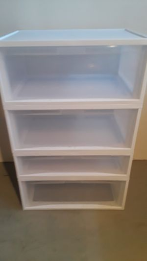Plastic stackable drawers for Sale in Sterling Heights, MI