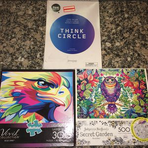 Puzzle Bundle Pack (3 Different Puzzles) for Sale in Queens, NY
