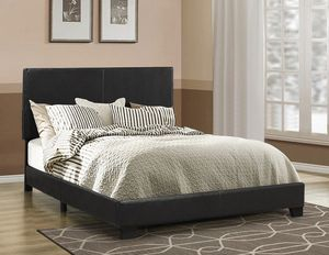 Coaster Queen Leatherette Bed Frame Same Day Delivery for Sale in Atlanta, GA