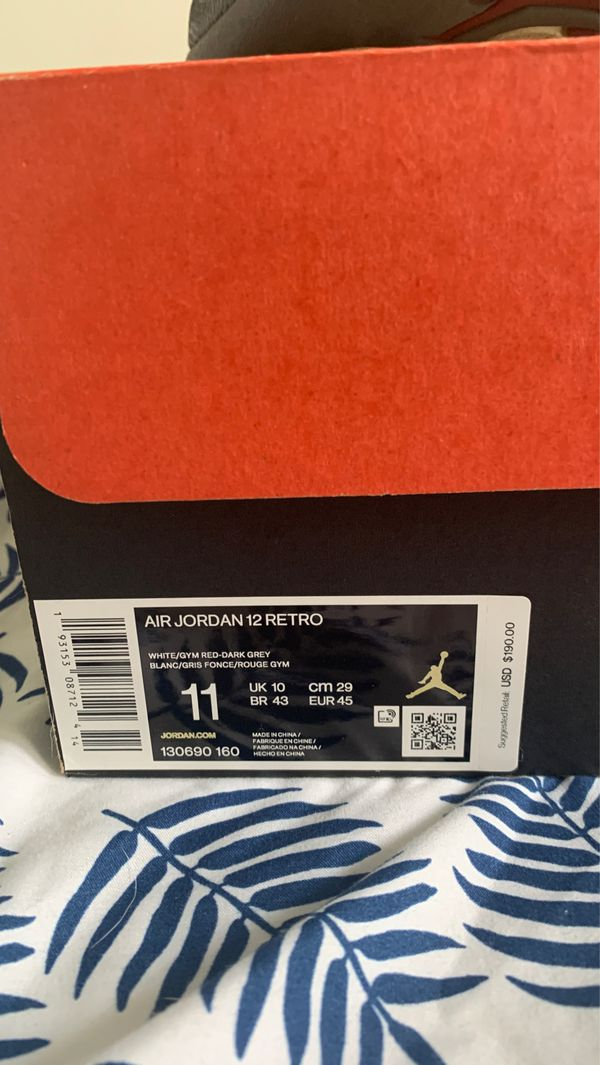 Jordan 12 /Jordan 11/Jordan6 Jordan 7 free kd 9 if you . buy all 4 together NEED GONE ASAP