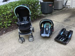Graco travel set (stroller, car seat & base) for Sale in Arlington, VA