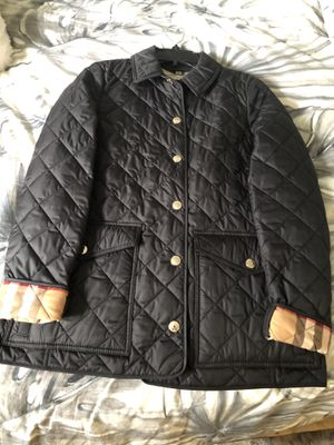 Burberry Classic Quilted Jacket for Sale in Long Beach, CA