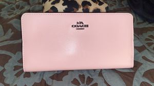 Pink coach wallet for Sale in Golden, CO