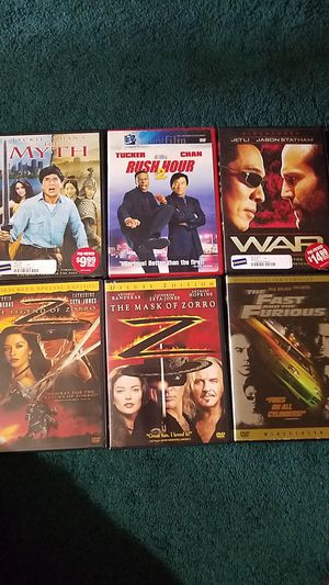 Used DVDs $1 ea $5 for all for Sale in Tacoma, WA