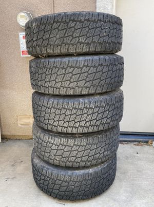 Jeep Rubicon Full Tire Set for Sale in Thousand Oaks, CA