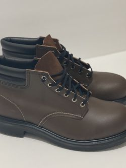 Men's Red Wing Heritage 8215 Steel Toe 6 in Boot Brown Size 11.5 EEE MADE IN USA for Sale in Aurora,  IL