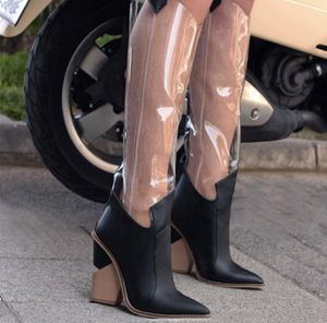 Over Knee Transparent Boots Rain Boots for Sale in Chicago, IL