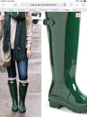 Hunter rain boots for Sale in Duncanville, TX