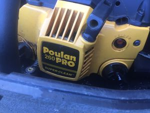 Poulan 260 Pro Chainsaw SUPER CLEAN for Sale in Alexandria, VA
