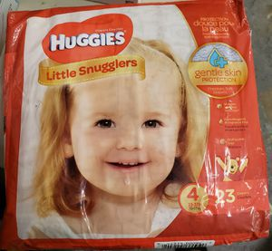 HUGGIES LITTLE SNUGGLERS DIAPERS. BRAND NEW. for Sale in Spotswood, NJ