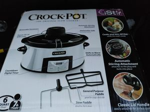 Reduced! Brand New Original CrockPot w/stir for Sale in Lancaster, MA