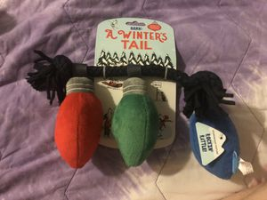 A winters tail dog toy. New for Sale in Riverside, CA