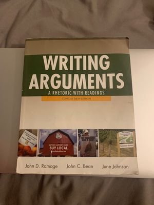 Writing Arguments Sixth Edition for Sale in Anaheim, CA