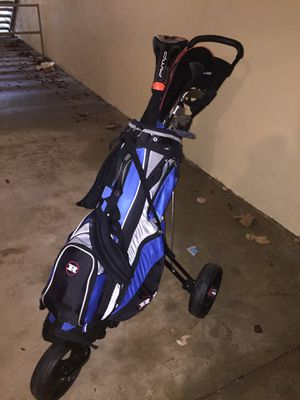 Golfs balls and equipment and cart for Sale in Silver Spring, MD
