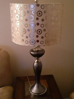 1 year and 3 months old 2 Ashley lamps in great shape for Sale in Phoenix, AZ