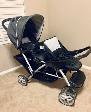 Graco DuoGlider Double Baby, Toddler Stroller - Fits up to 2 Graco Click Connect Infant Seats or Use Tandem Seats for Kids for Sale in Surprise, AZ
