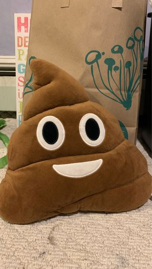 Emoji poop pillow for Sale in Yarmouth, ME