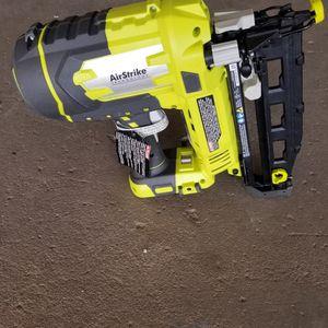 Ryobi 16 gauge finishing nail gun for Sale in St. Petersburg, FL