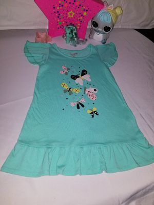 🦋💚🦋 Cat E Jack Brand Dress (4/5) years in good condition 🦋💚🦋 for Sale in Portland, OR
