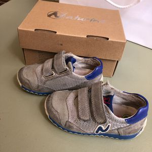 Boy's Naturino Grey Low-Tops & Sneakers Size 23 European (7C US) for Sale in New York, NY