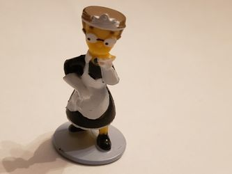 The Simpson Smithers As A Maid Miniature Figurine for Sale in Southington,  CT