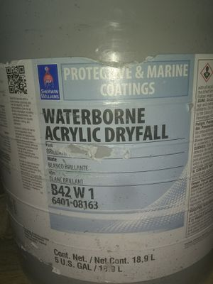 Waterbourne acrylic dryfall for Sale in Columbus, OH