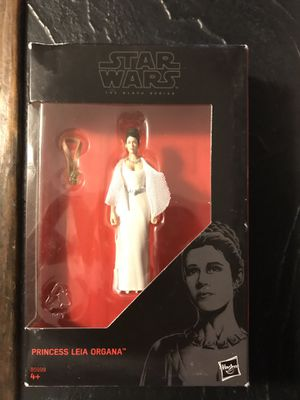Princess Leia Black Series Star Wars action figure for Sale in Manassas, VA