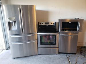 Stainless steel kitchen appliances for Sale in Laveen Village, AZ